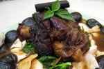Braised Pork Shank With King Topshell
