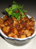 Diced Pork in Spicy Fermented Bean Sauce