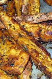 Baked Sweet Potatoes Wedges