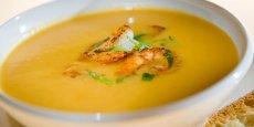 Squash and Shrimp Bisque