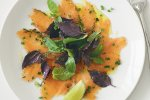 Coriander & chilli gravlax salad
