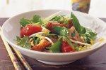 Chinese duck & plum salad