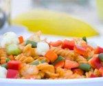 Rainbow Rotini Pasta Salad