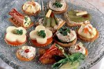 Egg And Sardine Canapes Recipe