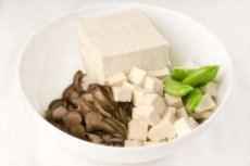 Japanese Tofu with Dried Prawns Recipe