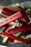 Red Wine-Poached Rhubarb Recipe