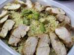 Rosemary Chicken With Rice & Asparagus