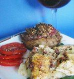 Mushroom-Stuffed Beef Tenderloin