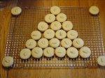 Ginger-Almond Shortbread Cookies