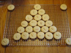 Ginger-Almond Shortbread Cookies