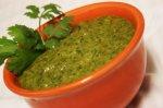 Roasted Poblano Cilantro Sauce