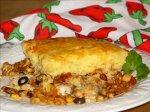 Spicy Chicken and Cornbread - Casserole