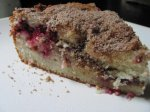 Buttery Raspberry Streusel-Filled Coffee Cake