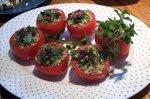 Mediterranean Stuffed Tomatoes
