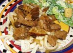 Home-Style Beef-N-Noodles W/Mushrooms & Onions