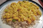Quick N' Easy Curried Shrimp