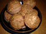 Savory Basil Zucchini Muffins