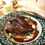 Roast Wild Duck With Cranberry Sauce