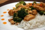 Amazing Thai Peanut Chicken