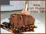 Rich Low Fat Chocolate Cake (Kosher-Dairy)
