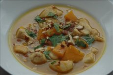 Chicken Stew With Shallots, Cider and Butternut Squash