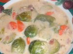 German Brussels Sprouts Soup