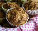 Apple Date Muffins