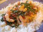 Quick Tomato Shrimp Stew Florentine