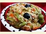 Mediterranean Paella (Vegetarian)