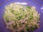 Ginger/Garlic Savoy Cabbage