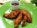 Coconut Chicken Fingers With 30 Minute Mango Chutney