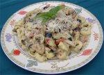 Pesto-Alfredo Cheese Tortellini W/ Grilled Chicken