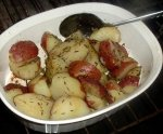 Rosemary Potatoes - Microwave