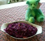 Braised Red Cabbage With Apples - Scandanavia