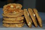 Honey Roasted Peanut Butter Toffee Swirl Cookies