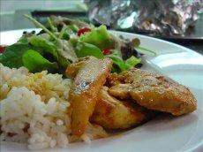 Spicy Chicken in Foil