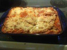 Chicken Baked Ricotta Manicotti