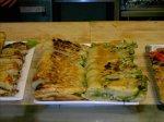Spinach, Pine Nut, Feta Stuffed Focaccia W. Basil-Arugula Pesto