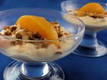 Peaches & Cream Gingersnap Cups