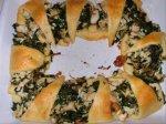 Chicken Spinach Crescent Sandwiches