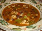 Savory Southwestern Soup-South Beach Friendly!