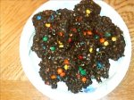 No-Bake Brownie Bits