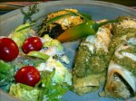 Cd's Famed Tofu-Broccoli Enchiladas