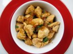 Asian Spiced Chicken With Vanilla Apricot Sauce