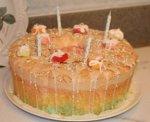 Lemon Angel Food Cake - Barefoot Contessa - Ina Garten