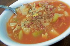 Manhattan-Style Crock Pot Clam Chowder