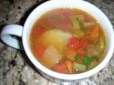 BLT & P (Bacon, Leek, Tomato and Potato) Soup