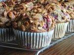 Berry & Nut Bran Muffins