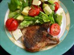 Thai Ginger Paprika Pork Steaks