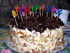 Almond Raspberry Chocolate Torte